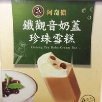 A-Chino - Oolong Tea Boba Cream Bar, 360 Gram