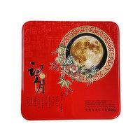 Wang Yue - WangYue MoonCake White Ltus Dbl Ylk, 640 Gram