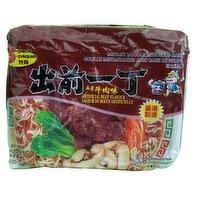 Nissin - Instant Noodle Soup - Beef, 5 Each