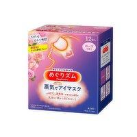 Kao - Hot Eye Mask Rose, 12 Each