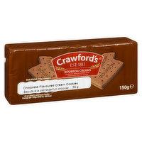 Crawford's - Bourbon Creams Biscuits, 150 Gram