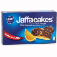 Enjoy the irresistible chocolatey orange flavoured jelly biscuits.
