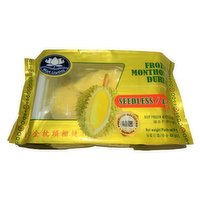 Bua Luang - Frozen Monthong Durian, 454 Gram