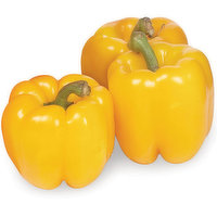 Peppers - Yellow Bell, Hot House