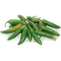 Peppers - Serrano Green