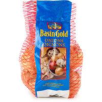 Onions - Yellow Medium, Mesh Bag - 3lb, 3 Pound