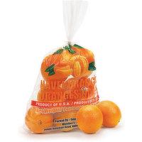 Oranges - Navel, 1 Bag, 4 Pound