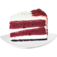 Bake Shop Bake Shop - Red Velvet Layered Cheesecake Slice, 1 Each