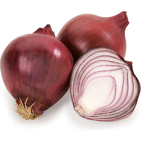 Fairly Similar to Yellow Onions in Flavor, though their Layers are Slightly less Tender and Meaty. Most Often used in Salads, Salsas, other Raw Preparations for their color and relatively mild Flavour