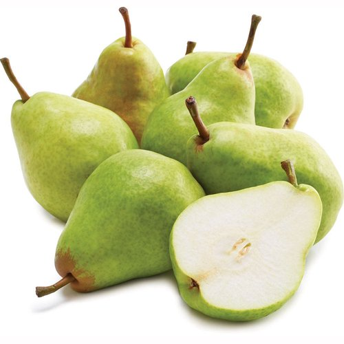 Fancy Grade A. Bell-Shaped Pear with a Classic Sweet Pear Flavor and Smooth, Buttery Texture.