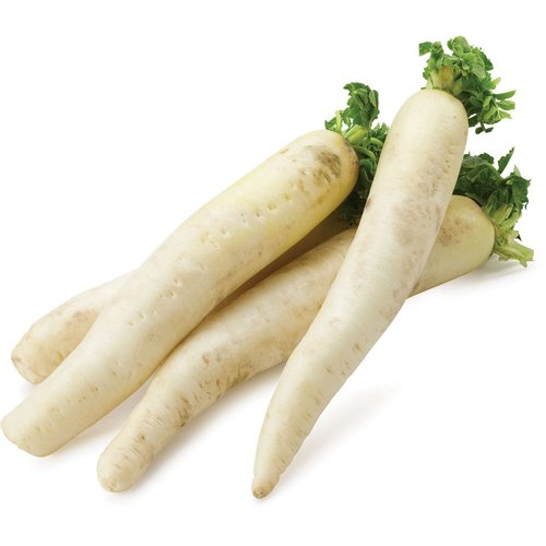 Known as Chinese White Radish. Also Known as Lo Bok.