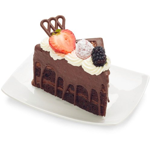 It is incredibly moist and chocolaty, but also has great structure and stacks incredibly well!