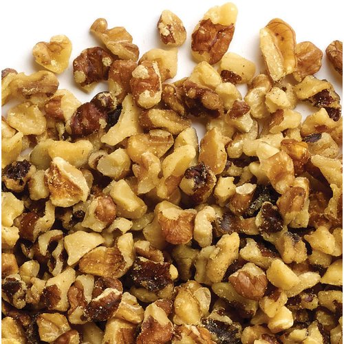 Unsalted, raw walnut pieces. Perfect for baking & snacking.