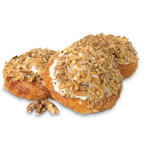 Made Fresh Daily in Store.  Topped with Icing and Nuts. Available While Quantities Last.