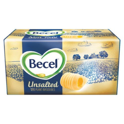 Becel Plant-Based Bricks taste, cook and bake like dairy butter. Vegan and dairy free, theyre the perfect 1:1 swap for butter in any recipe. Butter lovers love it. No artificial preservatives, flavours or colours.