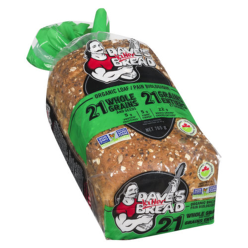 Super Grainy Texture, Subtle Sweetness, Hearty flavour, and Seed-Coated Crust. Great for Toast, Sandwiches, or even by itself, 21 Whole Grains is the Perfect all Around Bread and our Number 1 Seller!.