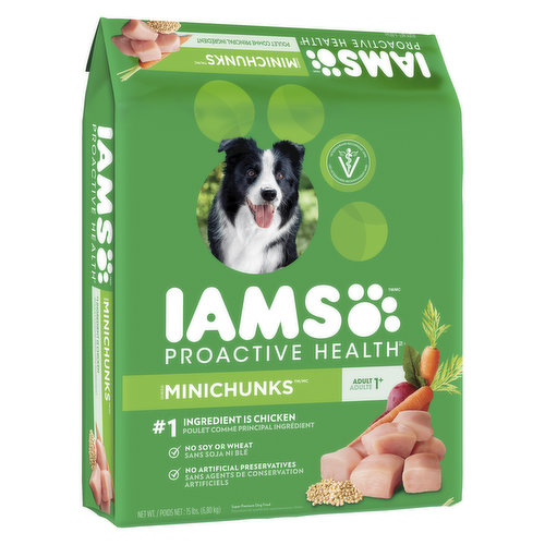 With High Quality Protein. For Adult Dogs Ages 1-6