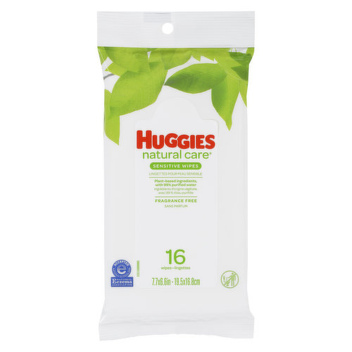 Natural Care baby wipes are the gentle clean for a babys naturally perfect skin. Softer layers provide a gentle clean for your babys skin.