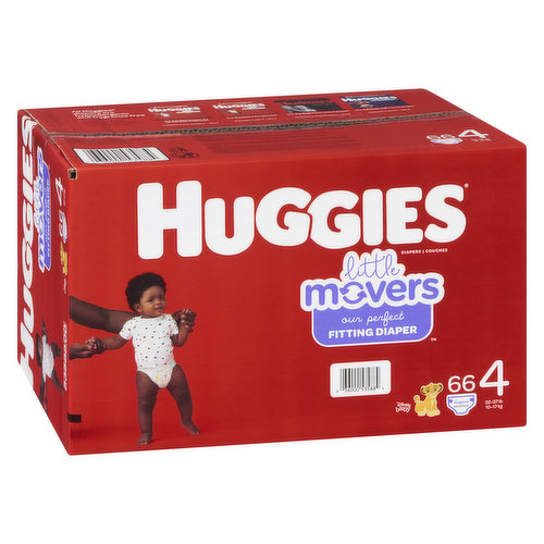 Size 4. 22-37lb. 66 diapers.