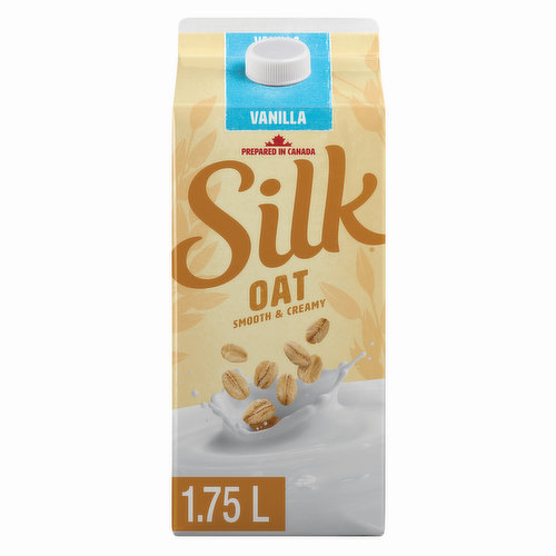 Inspired by the creaminess of milk, this craveable vanilla take on the humble oat transforms your morning joe, your cereal, your cookie-dunking habit, & more. Great source of vitamin D, B12 & calcium.