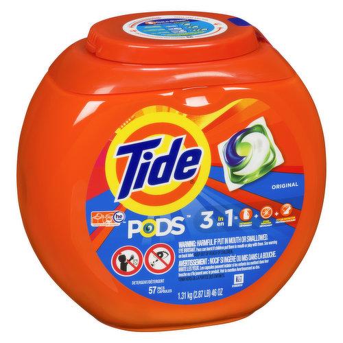 For All Machines. Detergent + Stain Remover + Brightener.
