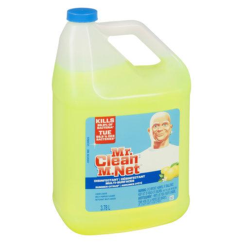 Disinfectant. Kills 99.9% of Bacteria.