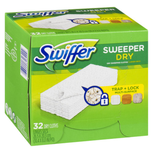 Leaves Floors up to 3X Cleaner. For Use with Sweeper & Sweeper Vac.