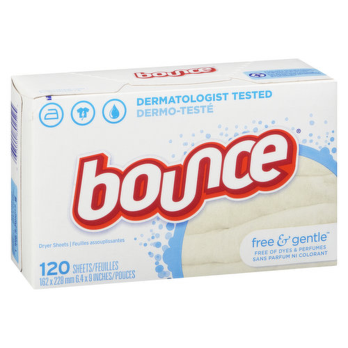 Fabric Softener. Free of Dyes & Perfumes.