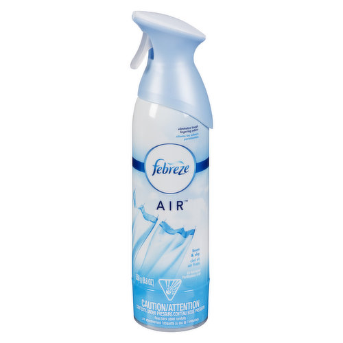 Bring the outdoors in with this fresh off the clothes line scent. A scent so airy, your guests will think you live in an odor eliminating cloud of freshness.