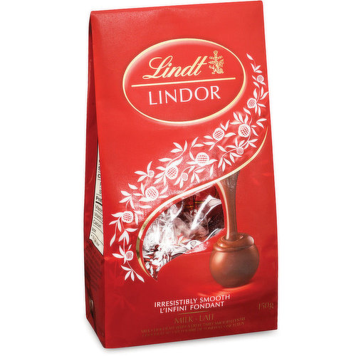 Irresistibly Smooth Milk Chocolate with a Delicately Smooth Center.