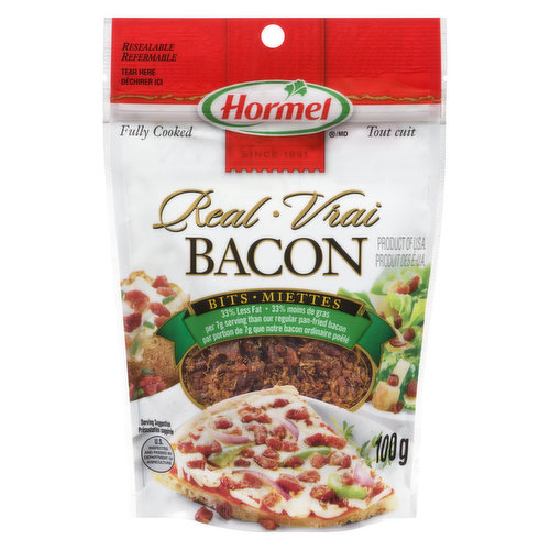33% Less Fat per 7g Serving than our Regular Pan Fried Bacon.