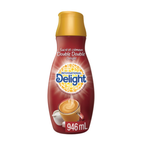 Make your perfect cup with a touch of sweet and creamy flavour. Natural and artificial flavour.