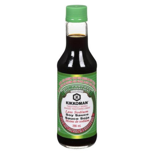 37% Less Sodium than Original Kikkoman Soy Sauce.