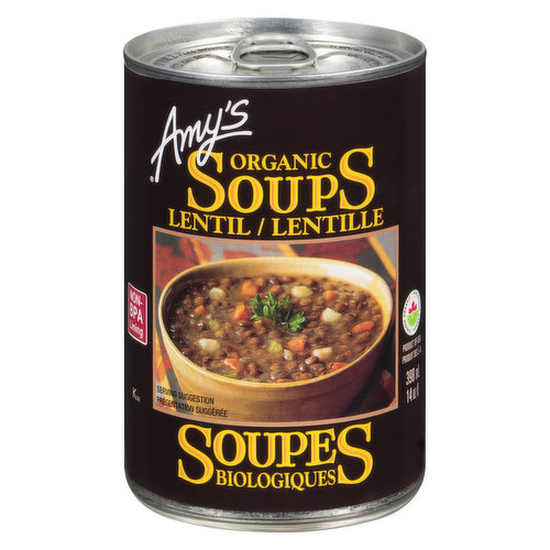 Amy, who is a picky eater, loves this nourishing lentil soup, made from her mom's favorite recipe. It's high in protein and fiber, and has a rich, satisfying flavor.