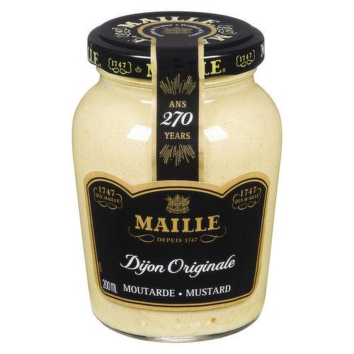 Prepared Dijon Mustard. Hot.