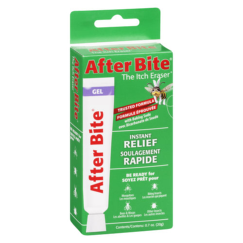 Trusted Formula with Baking Soda. Instant Relief. Be Ready for Mosquitoes, Bees & Wasps, Biting Insects, Other Insects.