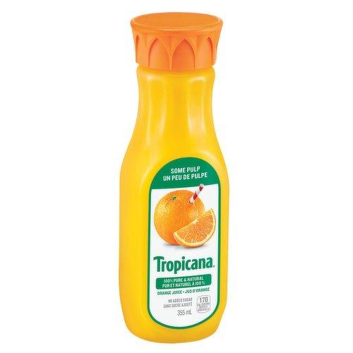 Florida 100% Pure & Natural Orange Juice. 170 Calories per Bottle.