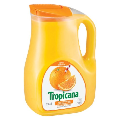 100% Pure & Natural Florida Orange Juice