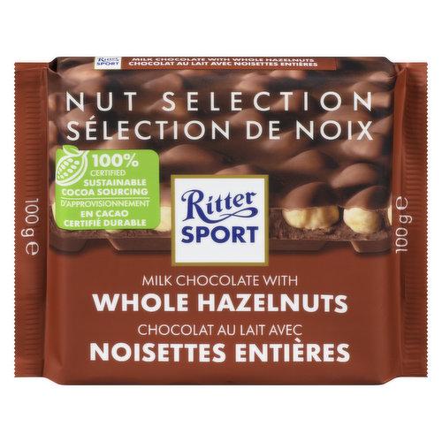 Made with crunchy roasted whole hazelnuts.