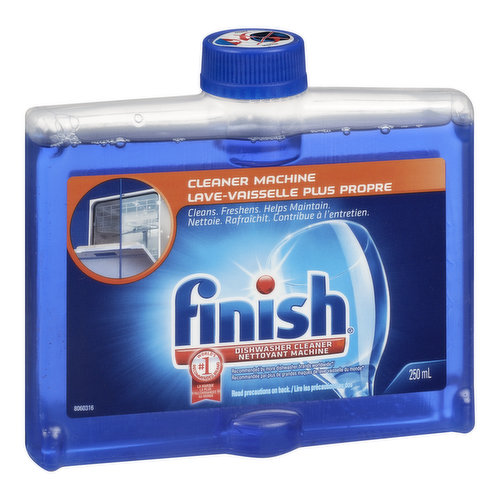 Cleans, freshens, & helps maintain your dishwasher. Use once a month, or as soon as you notice build up in your dishwasher.