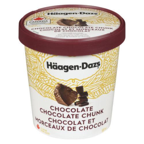 Limited Edition Flavour. Chocolate Ice Cream with Chocolate Fudge Chunks.