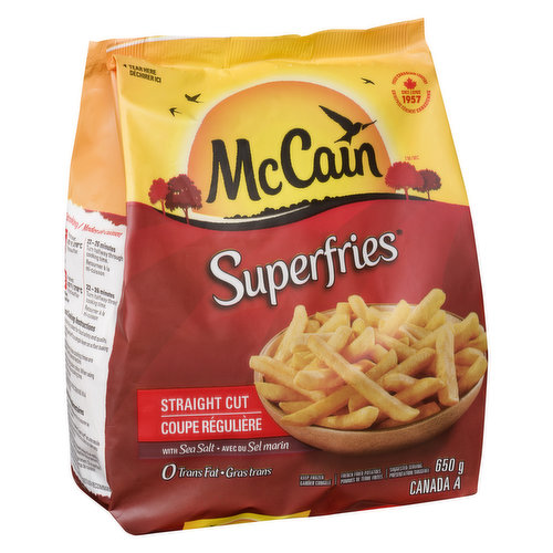 Made from the Goodness of 100% Specially Selected Potatoes and a Touch of Sea Salt and Canola Oil, No Meal is Complete without this Classic Staple.