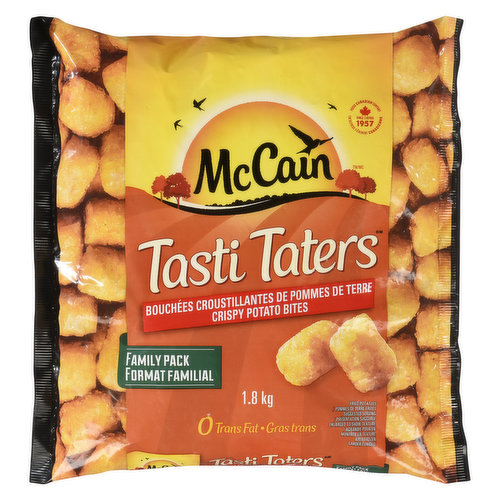 Frozen. Not only are they delicious, but they are trans fat and cholesterol-free and low in saturated fats. Made from real potatoes and simple ingredients.