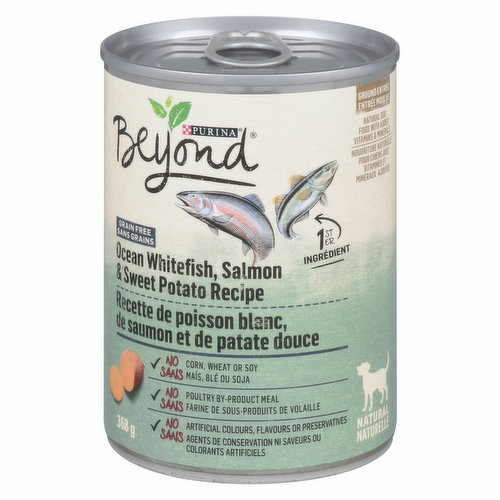 <table><tbody><tr><td>High-quality dry dog food made with natural prebiotic fibre. Line-caught Alaskan cod is the #1 ingredient in this grain-free high protein dog food.</td></tr></tbody></table>