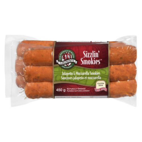 Naturally Smoked. Soy Free, Gluten Free, No MSG Added.