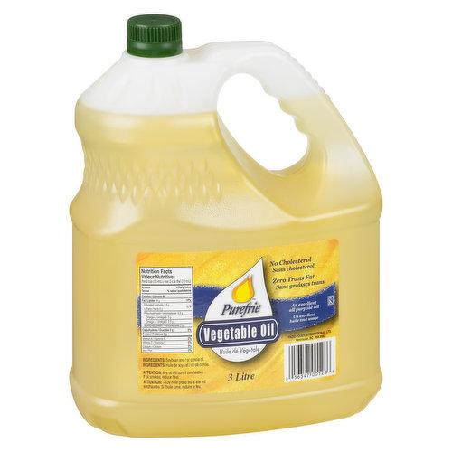 No Cholesterol. Zero Trans Fat. An Excellent All Purpose Oil.