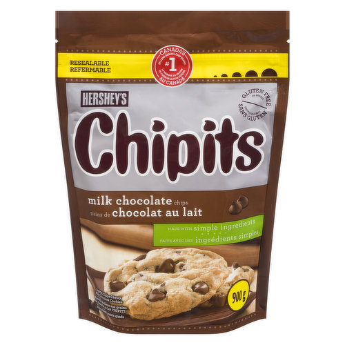 Sweeten any cookie dough with real chocolate chips that will have them coming back for more! Gluten Free.