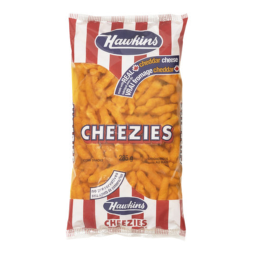 Made with Real Cheddar Cheese. No Preservatives.