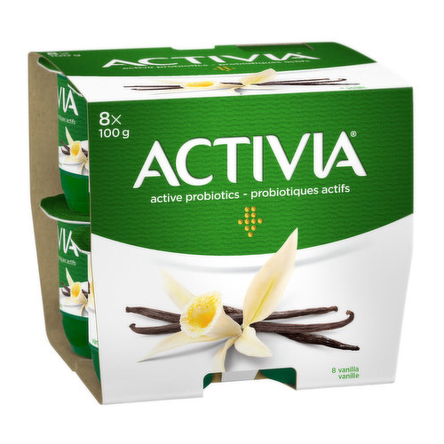 8X100g Serving Size Cups. A Delicious Creamy Taste Made with Vitamin D Fortified Skim Milk. 2.9% Milk fat.