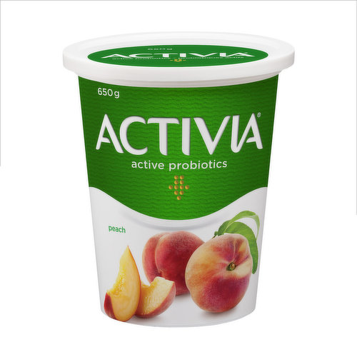 Enrich your day with a delicious, creamy low fat yogurt, with non-GMO ingredients. Infused with the fresh taste of peach and with billions of probiotics in every cup.